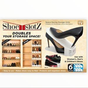 COPY - Shoe Slotz Storage Units in Ivory Count 10